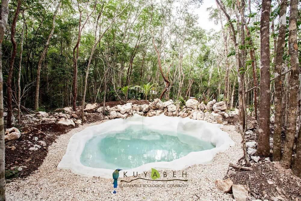 c real estate tulum kuyabeh jungle pool